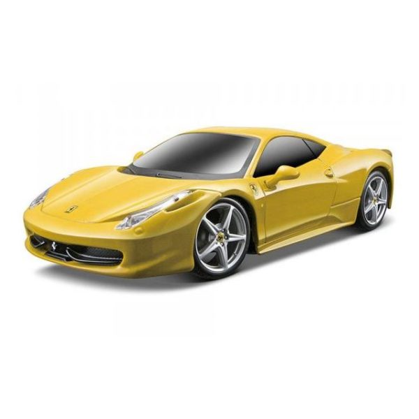 Maisto Tech 81058YLW RC Ferrari 458 Italia Yellow 1:24 - Color May Vary