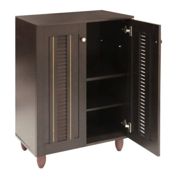 Home Style SH49710 Marshal 2 Door Shoe Cabinet