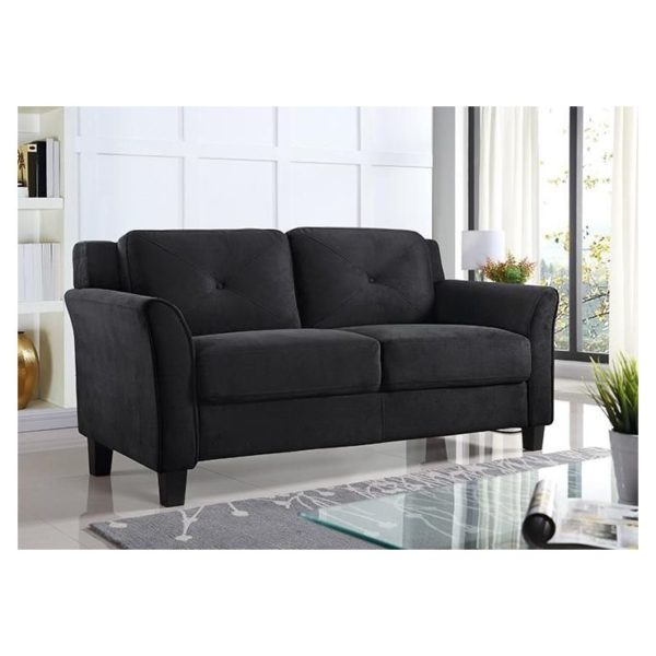 Harvard Loveseat in Grey Color
