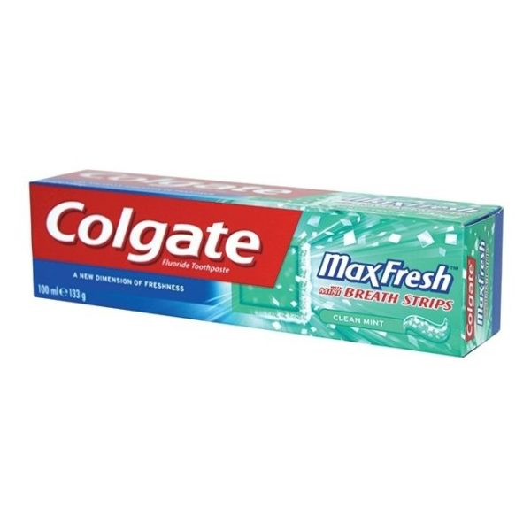 Colgate Max Fresh Clean Mint Toothpaste 100ml