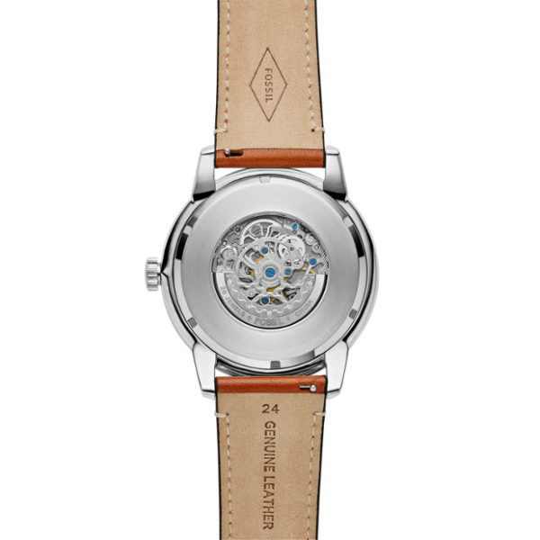 Fossil ME3154 Townsman 48mm Automatic Light Brown Leather Watch