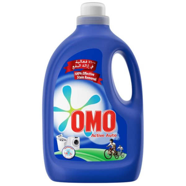 OMO Active Auto Fabric Cleaning Liquid 750ml (Equal to 1.5kg Powder)