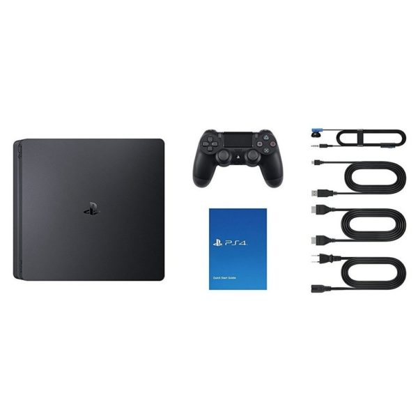 Sony PS4 Slim Gaming Console 1TB Black + Extra Controller + FIFA 19 Game