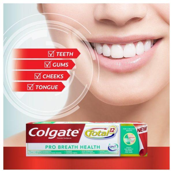 Colgate Total Pro Breath Health 75ml