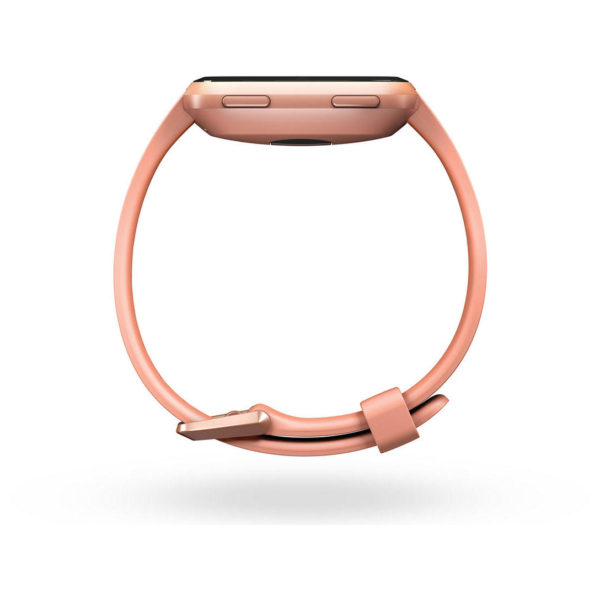 Fitbit Versa Fitness Watch - Peach/Rose Gold
