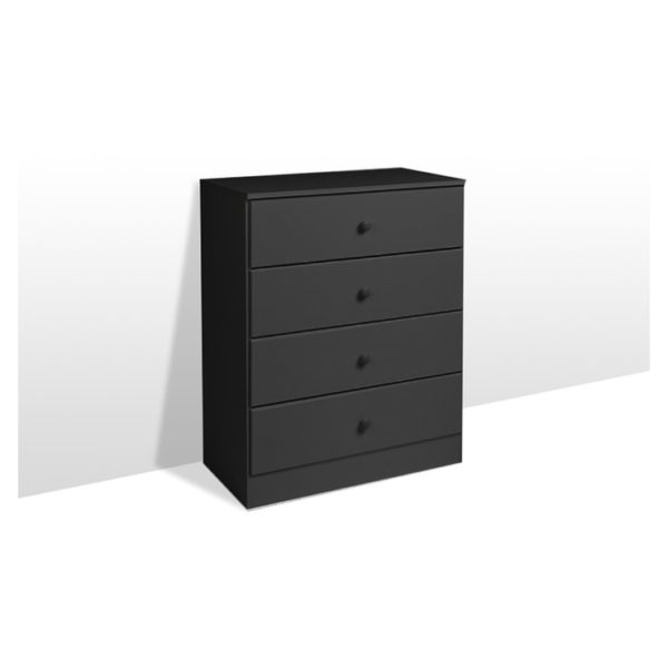Atoz Classic Chest Of Drawers 4 Drawer Chester Black Price