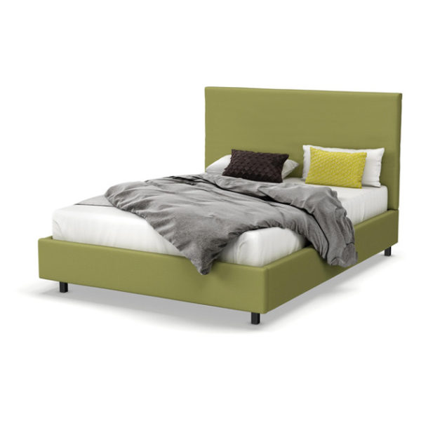 Wilmut Full Size Upholstered Bed Super King without Mattress Green