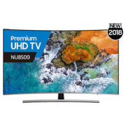 Samsung 65NU8500 Curved Smart 4K Premium UHD Television 65inch