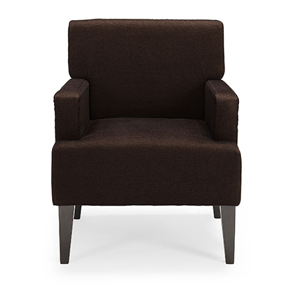 Fantastic Corktown Cochrane Solid Pattern Accent Chair Brown Gmtry Best Dining Table And Chair Ideas Images Gmtryco