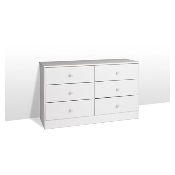 Atoz Classic Chest Of Drawers 6 Drawer Chester White Price