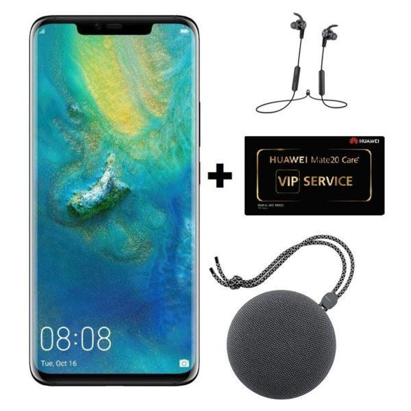 Huawei Mate 20 Pro 128GB Black Pre order +(Bluetooth Speaker + Bluetooth  Headset + VIP Service Card)