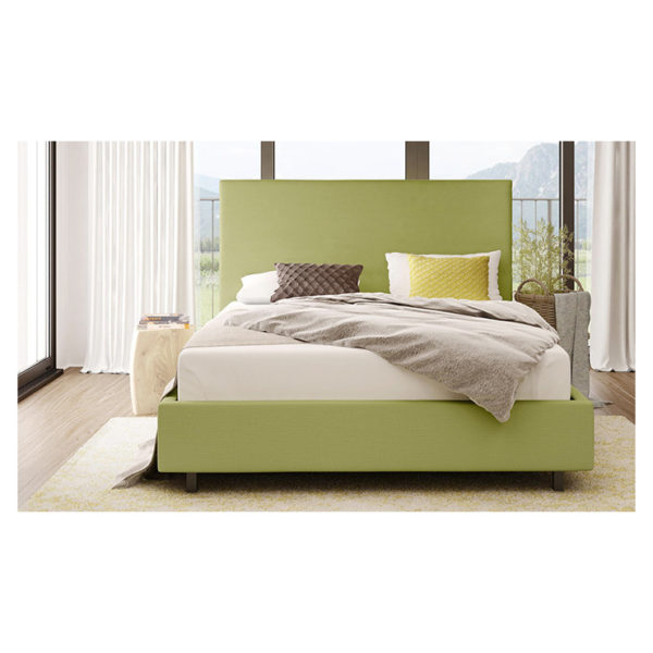 Wilmut Full Size Upholstered Bed King without Mattress Green