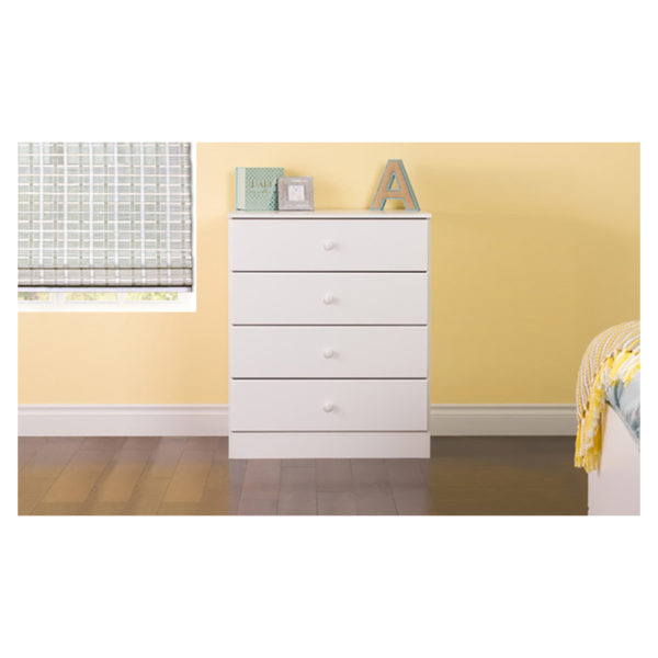 Atoz Classic Chest Of Drawers 4 Drawer Chester White Price