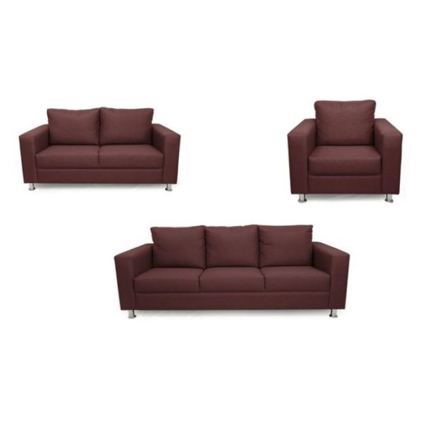 Silentnight Shanghai Sofas 6 - Seater ( 3+2+1 ) in Canary Color