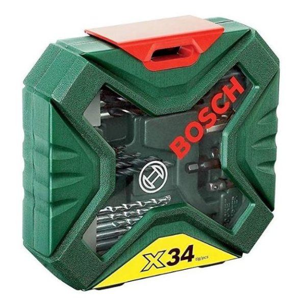 Bosch 34 Pcs X-line Set 2607010608