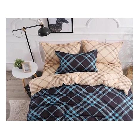 Deals For Less Checkered Single 4 pcs Comforter Set