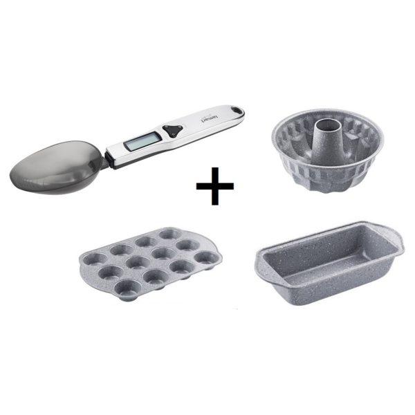 Lamart Spoon + MuffinCup + Set of 2 Pan