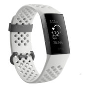Fitbit Charge 3 Special Edition Fitness Tracker - Frost White/Graphite Aluminum