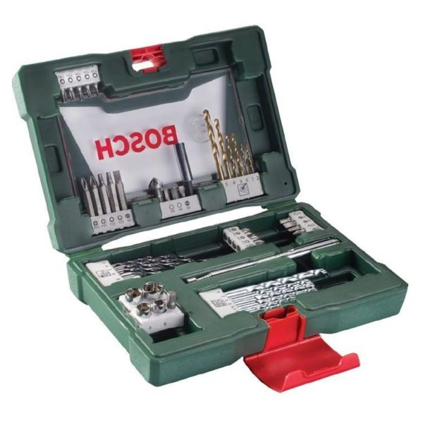 Bosch 48 Pieces V-line Drill and Bit Set 2607017303