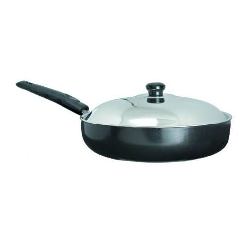 Anjali Platinum Fry Pan 220mm (with Lid) Small PFP22