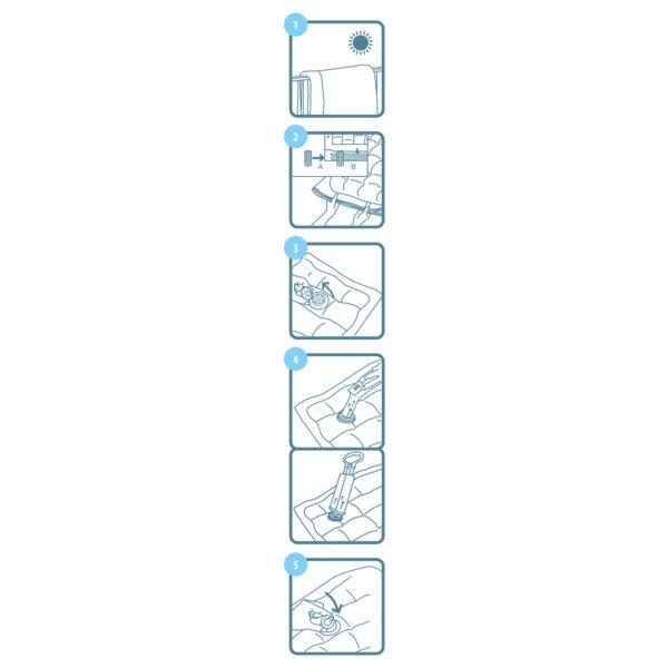 Lamart Vacuum Storage Bag 2Pcs 100 x 70 cm