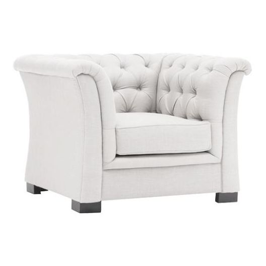Chester Hill Sectional Sofa 5 - Seater ( 1+1+3 ) in White Color