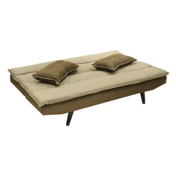 HomeStyle Desire Sofa Bed Beige/Brown