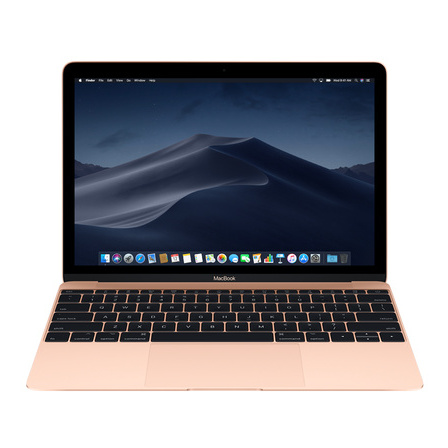 Apple MacBook - Core m3 1.2GHz 8GB 256GB Shared 12inch Gold Arabic