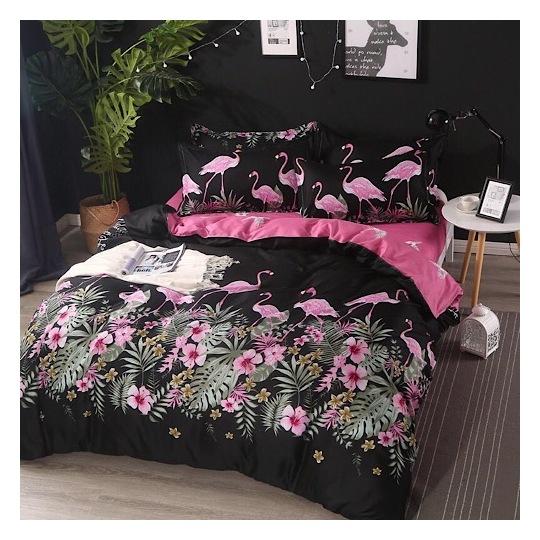 Deals For Less Flamingo Single 4 pcs Comforter Set