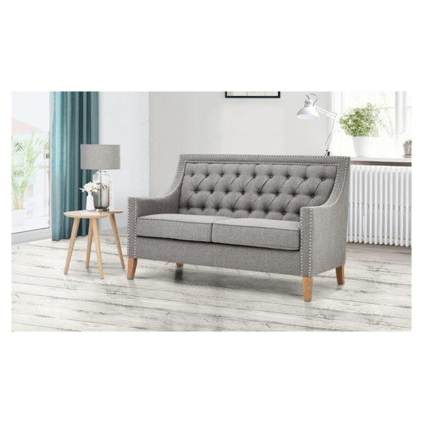 Montpellier Sofa Collection 5 - Seater ( 3+2 ) in Light Grey Color