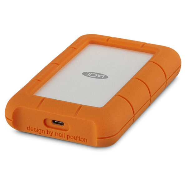 Lacie Rugged External Hard Drive USB 3.1 Type C 1TB