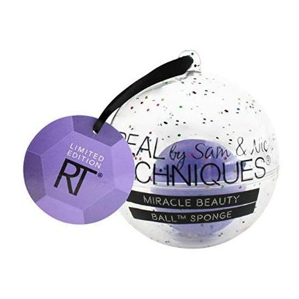 Real Techniques Let It Snowball Ornament Cosmetic Sponge