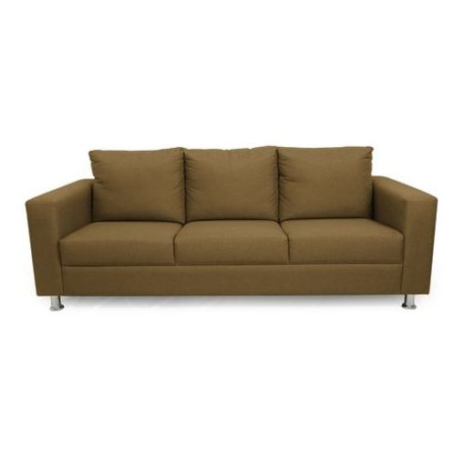 Silentnight Shanghai Sofas 5 - Seater ( 3+1+1 ) in Brown Color
