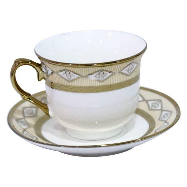 HomeStyle 12 Pieces Cup & Saucer Set 100 cc