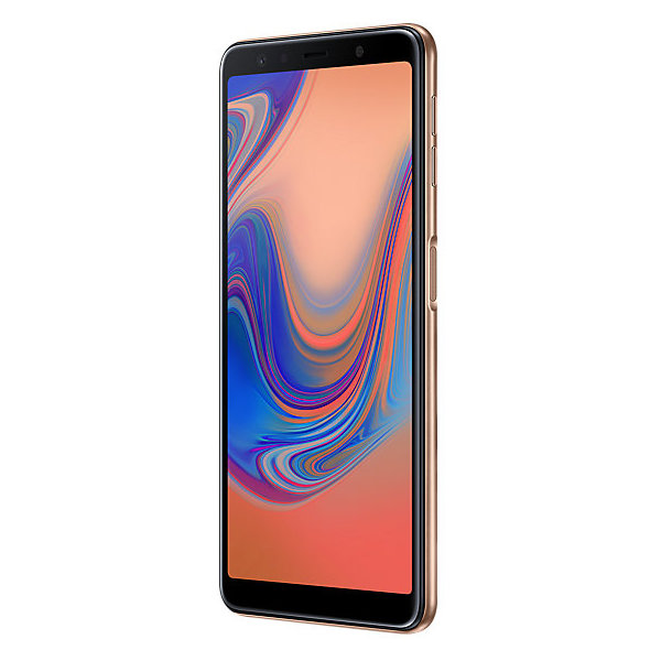 Samsung Galaxy A7 (2018) 128GB Gold 4G Dual Sim Smartphone SMA750F