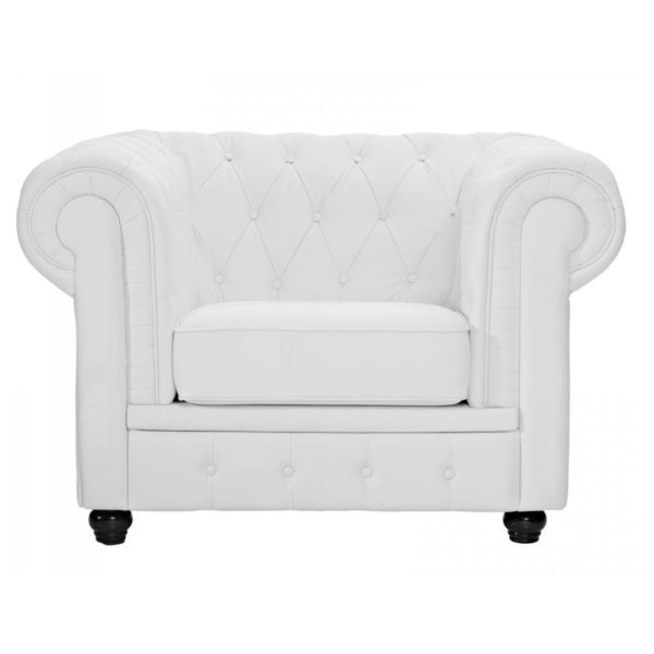 Ingles Sofa Sets 5 - Seater ( 3+1+1 ) in White Color