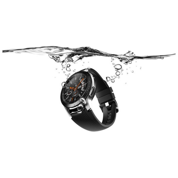 Samsung Galaxy Watch 42mm Midnight Black + Samsung Level U Pro Wireless Headphone