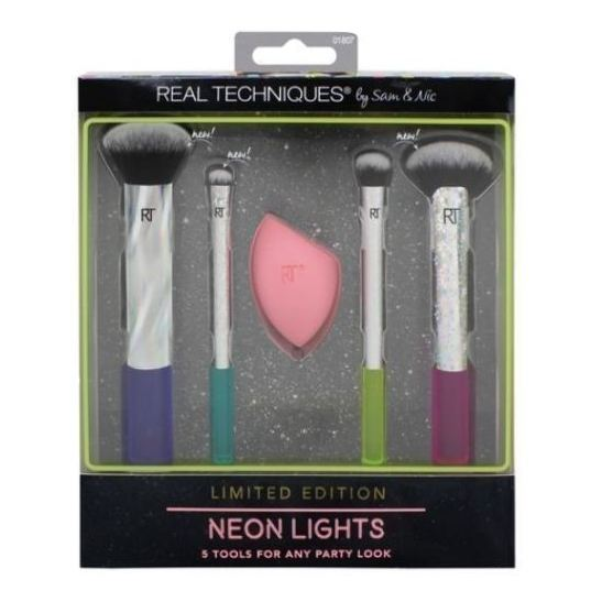 Real Techniques Neon Lights Cosmetic Brush Kit