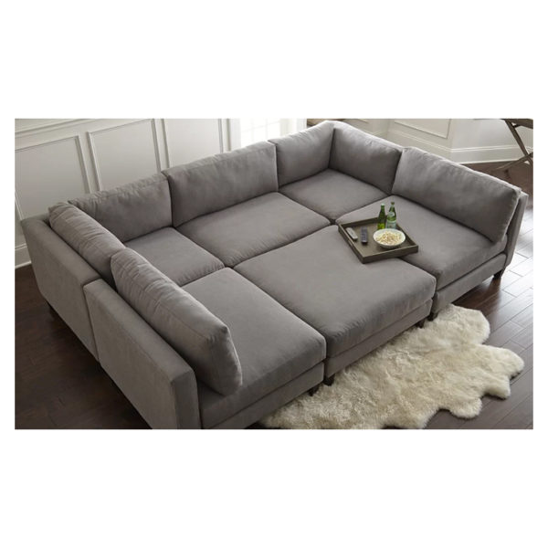 Chelsea Modular Sectional in Graphite Color