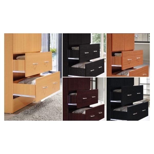 Buy Wardrobe Armoire (Black) – Price, Specifications ...