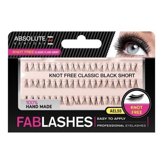 Absolute New York Knotfree Classic Flare Short EyeLashes Extention