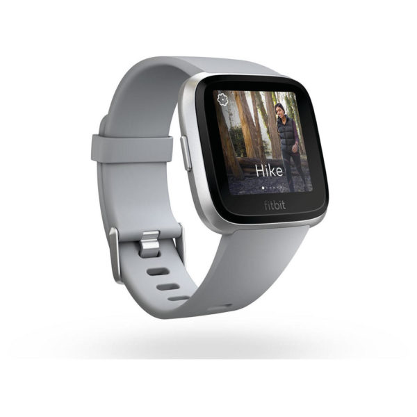 Fitbit Versa Fitness Watch - Grey/Silver
