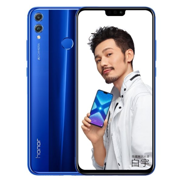 Buy Honor 8X 64GB Blue 4G Dual Sim Smartphone – Price