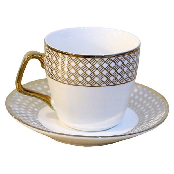 HomeStyle 12 Pieces Cup & Saucer Set 200cc