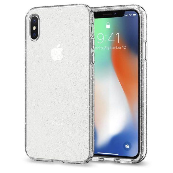 new product 11fde 717e6 Spigen Liquid Crystal Glitter Case For iPhone Xs Max – Crystal Quartz