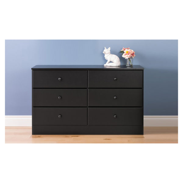 Atoz Classic Chest Of Drawers 6 Drawer Chester Black Price