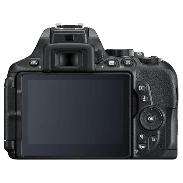 Nikon D5600 DSLR Camera Black + AF-P 18-55mm Lens + 55-200MM VR II Lens + Lexar LSD16GBBEU300 Premium II SDHC Card 16GB + Tripod