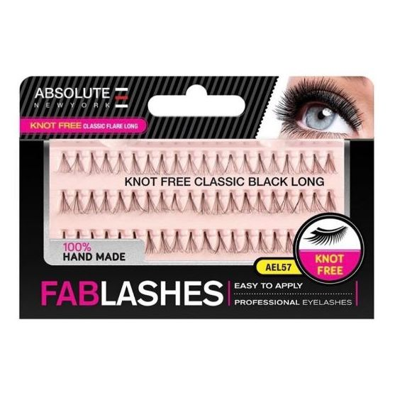 Absolute New York Knotfreeclassic Flare Long Eyelashes Extention