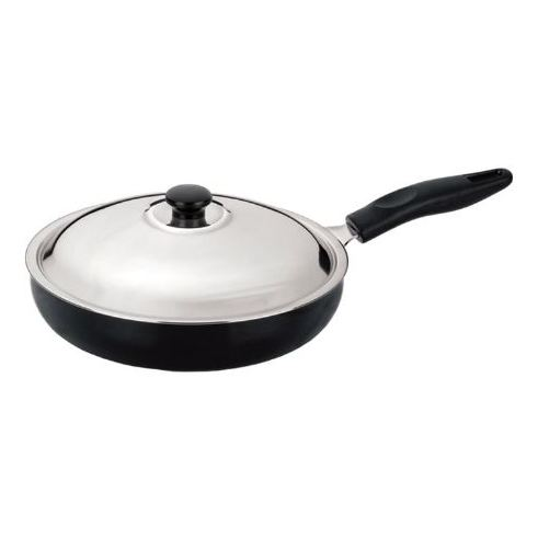 Anjali Diamond Fry Pan 280mm (With Lid) Large DFP28