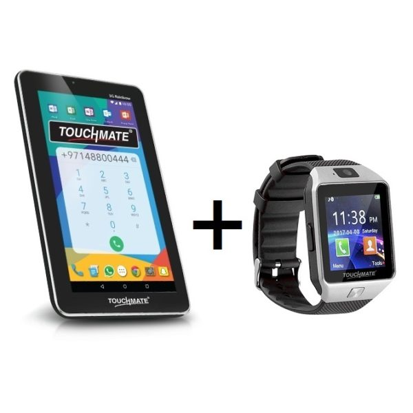 Touchmate TMMID795B 3G Rainbow Tablet - Android WiFi+3G 8GB 1GB 7inch + TM-SW200 Smart Watch